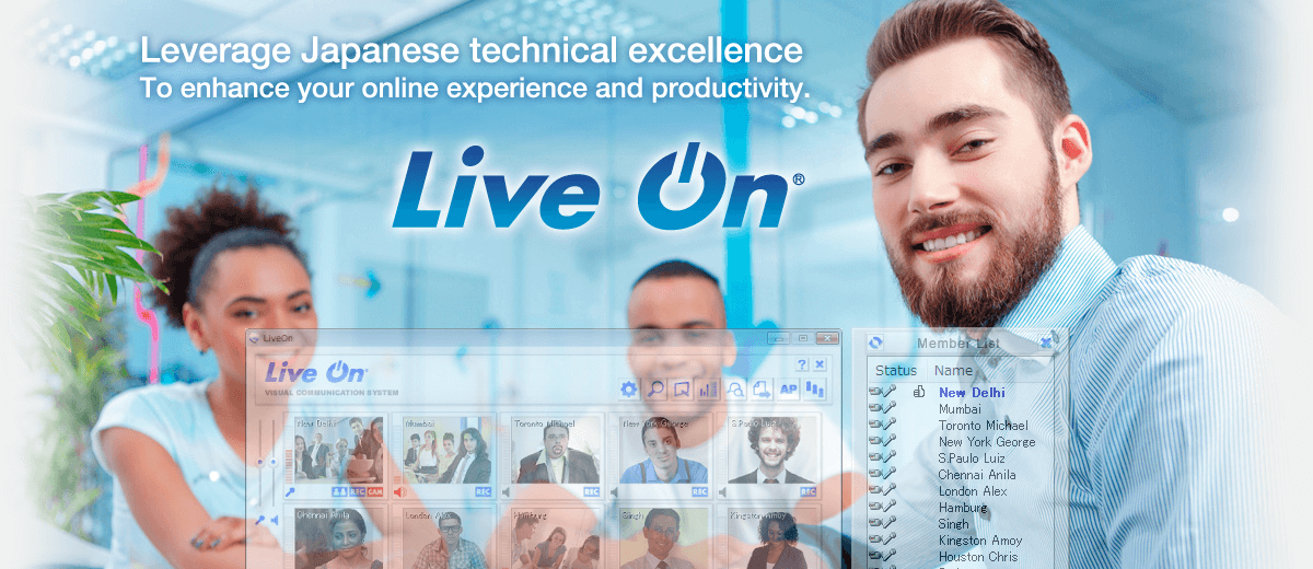 LiveOn: The Best Web and Video Conferencing solutions from Japan